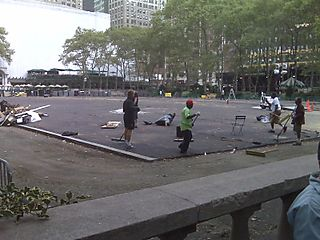Bryant Park After the Show 2