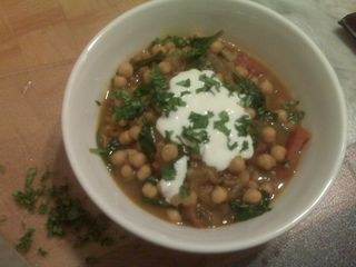 Morrocan Chickpea Soup 1